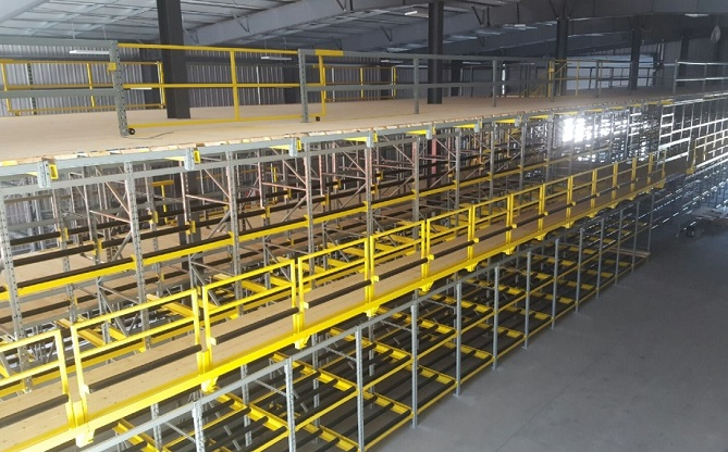 Cresswell racking Auto-stack