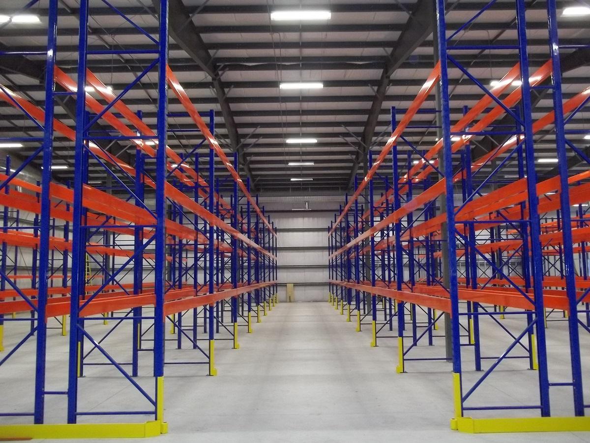 Systeme d entrosage en acier Cresswell installe par Total Industrial Solutions