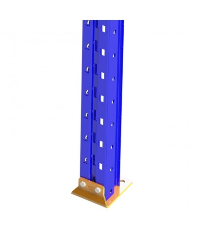 Bolted single post