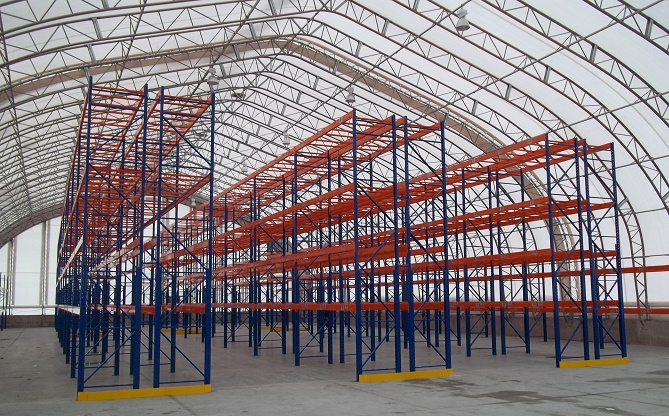 Pallet racking - PF Collins - Total